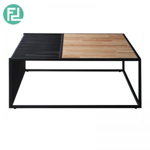 REAL Coffee Table - Cigar Black Frame