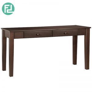 EBON Console Table (4ft) - Solid Wood