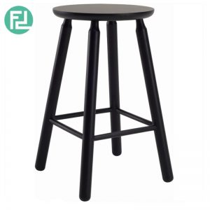 OLGA counter stool in Black colour