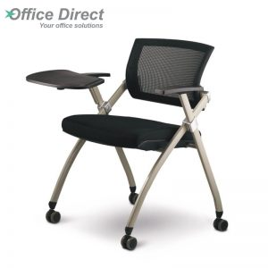 CAPRI training chair with foldable table