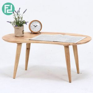 RAUNDS MUJI inspired solid wood coffee table