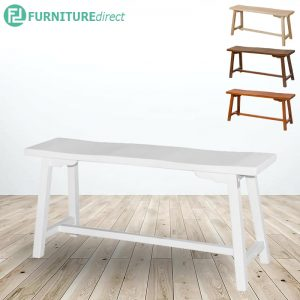 MEXICO solid wood long bench-4 colors