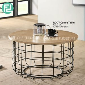 RODY industrial style coffee table-2 colors