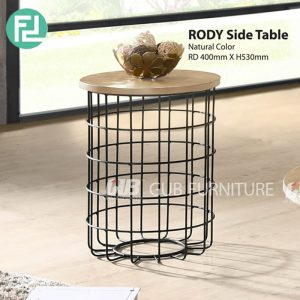 RODY industrial style side table-2 colors