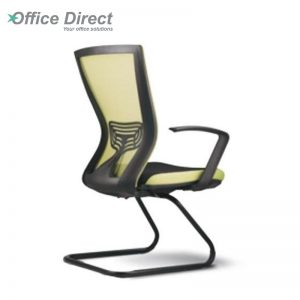 BERVERY BV-3A visitor office chair with arm-custom colour