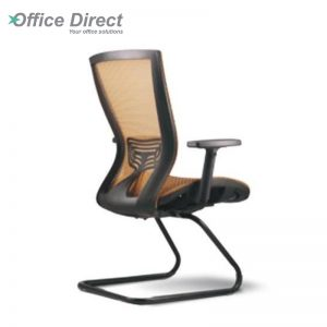 BERVERY BV-3C visitor office chair with arm-custom colour