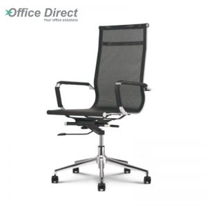 M.CASTRO MCR-1A high back office chair-black colour