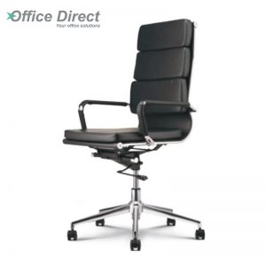 M.CASTRO MCR-1C high back office chair-black colour