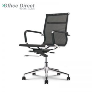 M.CASTRO MCR-2A low back office chair-black colour