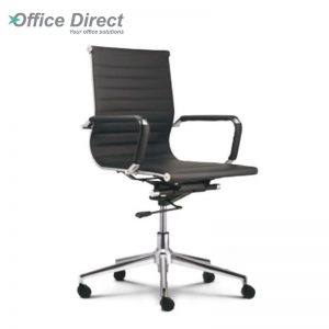 M.CASTRO MCR-2B low back office chair-black colour
