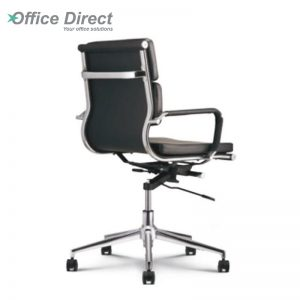 M.CASTRO MCR-2C low back office chair-black colour