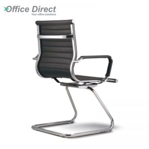 M.CASTRO MCR-3B visitor office chair with arm-black colour