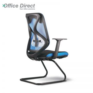 RAINBOW RB-3A visitor office chair with arm-custom colour