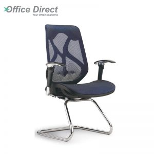 RAINBOW RB-3B visitor office chair with arm-custom colour