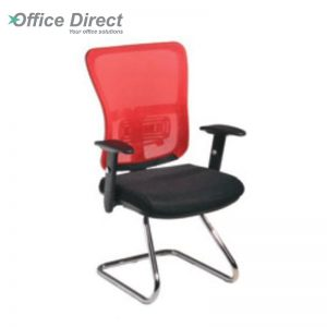 SKOGEN SG-3B visitor office chair with arm-custom colour