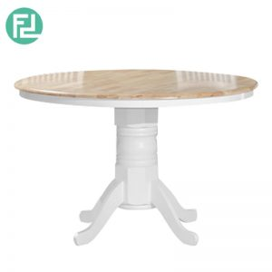 WINDSOR 4ft round solid wood dining table