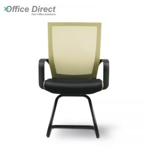 VERON VR-3 visitor office chair with arm-custom colour