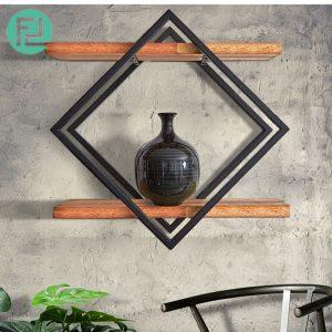 ZEN 8147 MUJI inspired solid wood wall shelf