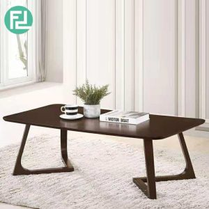 WOOYA LH30029 solid wood 120x60cm rectangular coffee table- wenge