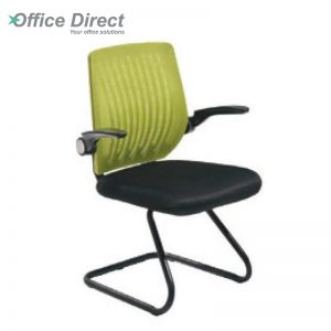 ALFRO AL-2 visitor office chair with arm-custom colour