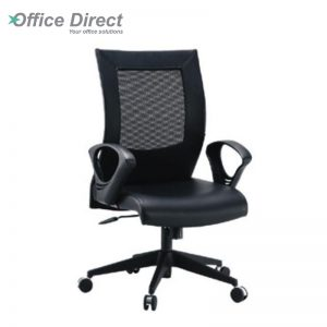 DERBY DR-2C low back office chair-black colour