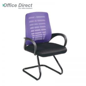 ENZO EZ-2 visitor office chair with arm-custom colour