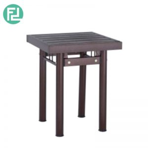 HAMILTON metal side table-antique bronze