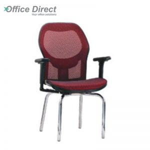 KINGSTON KS-3 visitor office chair with arm-custom colour