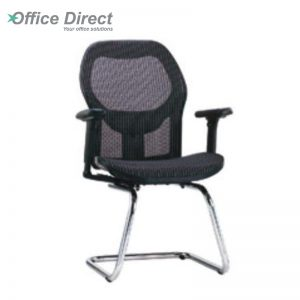 KINGSTON KS-4 visitor office chair with arm-custom colour