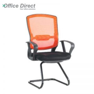 MISSOURI MS-3A visitor office chair with arm-custom colour