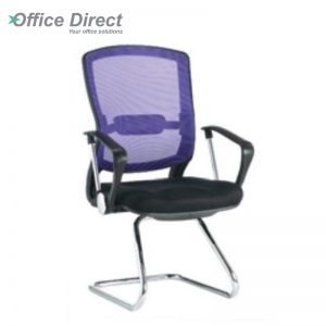 MISSOURI MS-3B visitor office chair with arm-custom colour