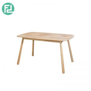 "BASEBALL BA-1 dining table 31""x53""-wood colour"