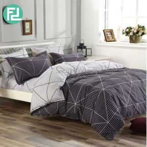 HIVIEW fitted 5 piece bedsheet bedroom set - king size