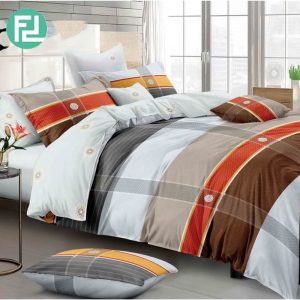 SCOTTISH fitted 5 piece bedsheet bedroom set - queen size