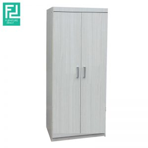CORONA 2 Door wardrobe- grey oak