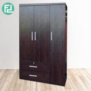 CORONA 3 Door 2 Drawer wardrobe- Wenge