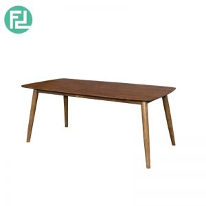MIAMI MI-2A dining table 3' x 6'-walnut colour