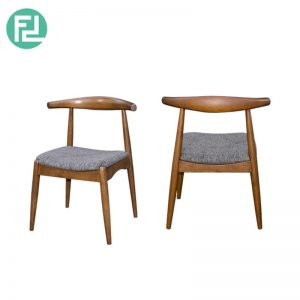 MIAMI MI-2B dining chair-walnut colour