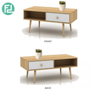 MONO scandinavian style 4ft coffee table-oak