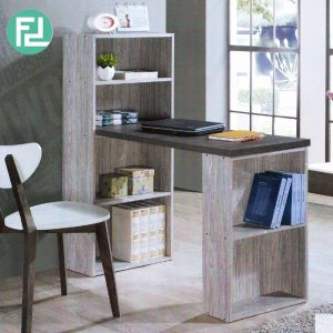 LONDON 4ft study desk with book shelf