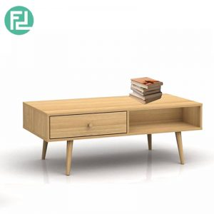 ADELLE 3ft coffee table with drawers-oak