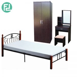 DARREN metal bed bedroom set