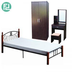 DARREN metal bed bedroom set