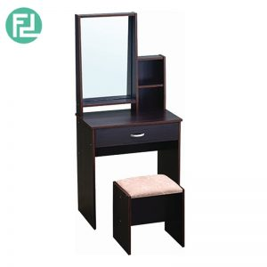 GORDON dressing table with stool- Capuccino