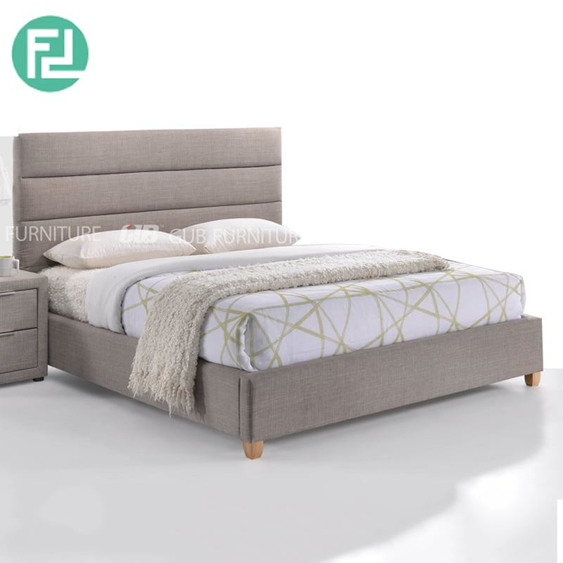 Sara Custom Made Fabric Bed Frame, Custom Made Queen Size Bed Frame