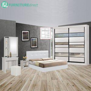 YORKCOLNE 5 piece queen size bedroom set-white