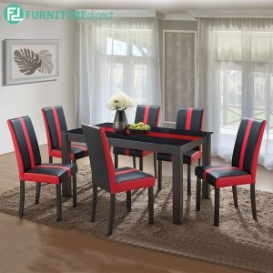 REDDWIT dining set 6 seater set