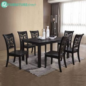 GINCHE dining set 6 seater set
