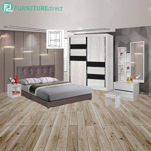 EAUWICK piece queen size bedroom set-white