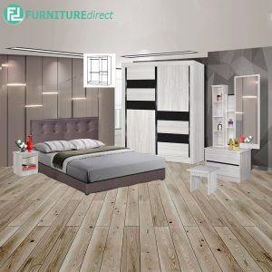 EAUWICK piece queen size bedroom set-white
